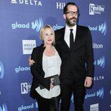 Patricia Arquette y Eric White en los GLAAD Media Awards 2015