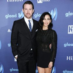 Channing Tatum y Jenna Dewan en los GLAAD Media Awards 2015