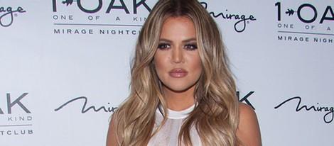 Khloe Kardashian en el evento '1 OAK' celebrado en Las Vegas