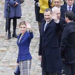Los Reyes Felipe y Letizia en su primer Viaje de Estado a Francia como Reyes de España