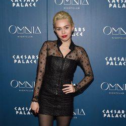 Miley Cyrus sale de fiesta en un club nocturno de Las Vegas