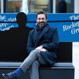 Jon Hamm en la instalación especial de 'Mad Men' en Nueva York