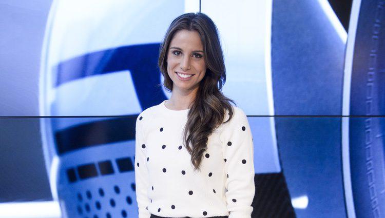 Lucía Villalón en la presentación de la temporada 2015 de Fórmula Uno
