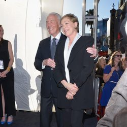 Christopher Plummer y Julie Andrews en el 50º Aniversario de 'Sonrisas y Lágrimas'