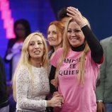 Belén Esteban emocionada con su amiga Tina tras ganar 'Gran Hermano VIP'