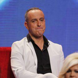 Víctor Sandoval en la gala final de 'Gran Hermano VIP'