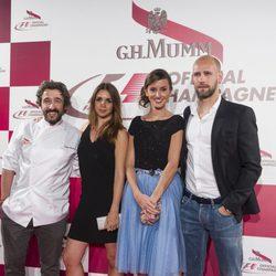 Diego Guerrero, Elena Furiase, Marina San José y Gonzalo Miró