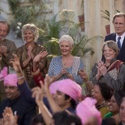 Celia Imrie, Ronald Pickup, Diana Hardcastle, Judi Dench, Maggie Smith y Bill nighy en 'El nuevo exótico Hotel Marigold'