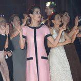 Carlota Casiraghi bailando en el Baile de la Rosa 2015