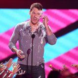 Chris Pratt en los Nickelodeon Kids Choice Awards 2015