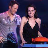 Angelina Jolie y Chris Pratt en los Nickelodeon Kids Choice Awards 2015
