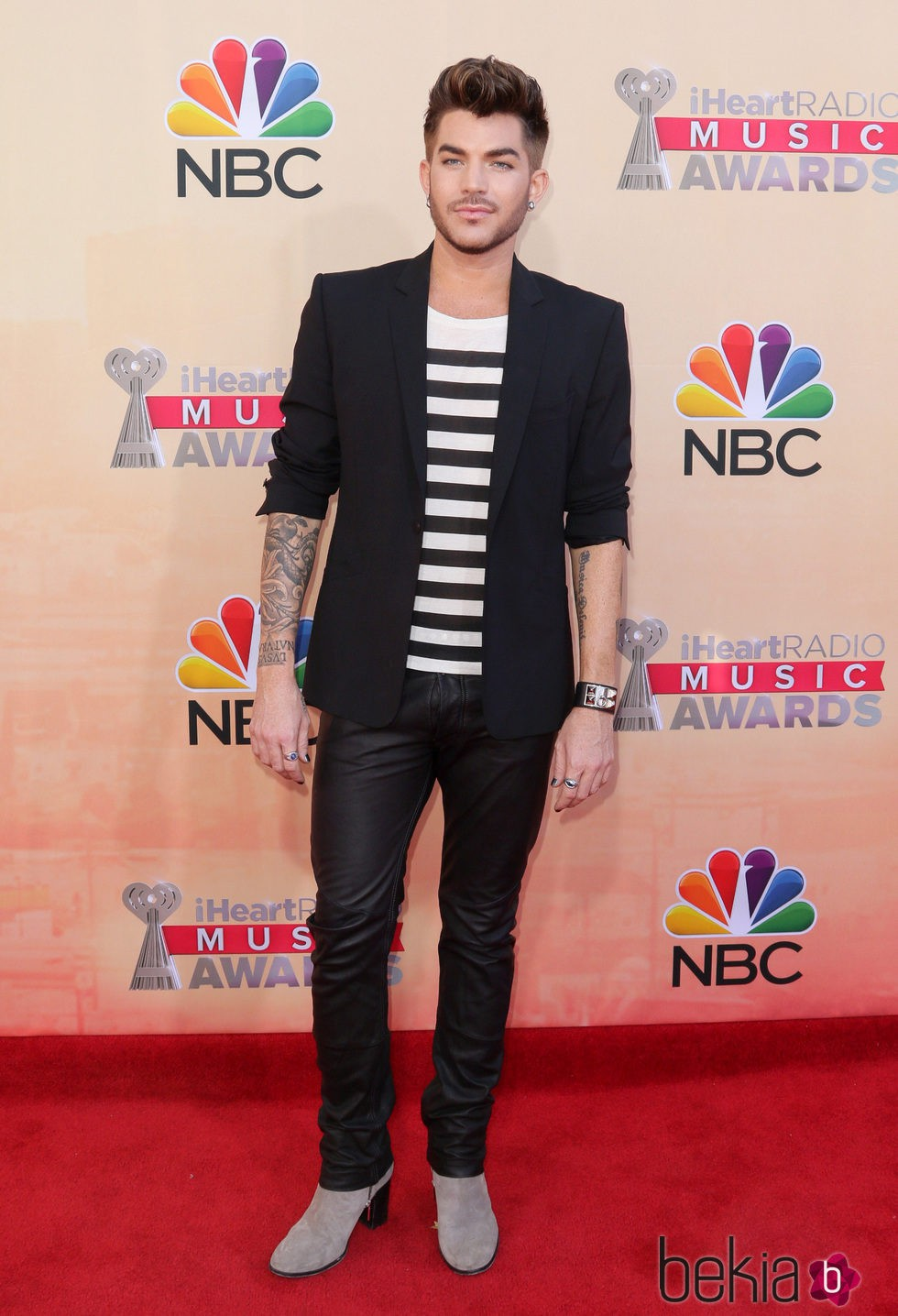 Adam Lambert en los premios iHeartRadio 2015