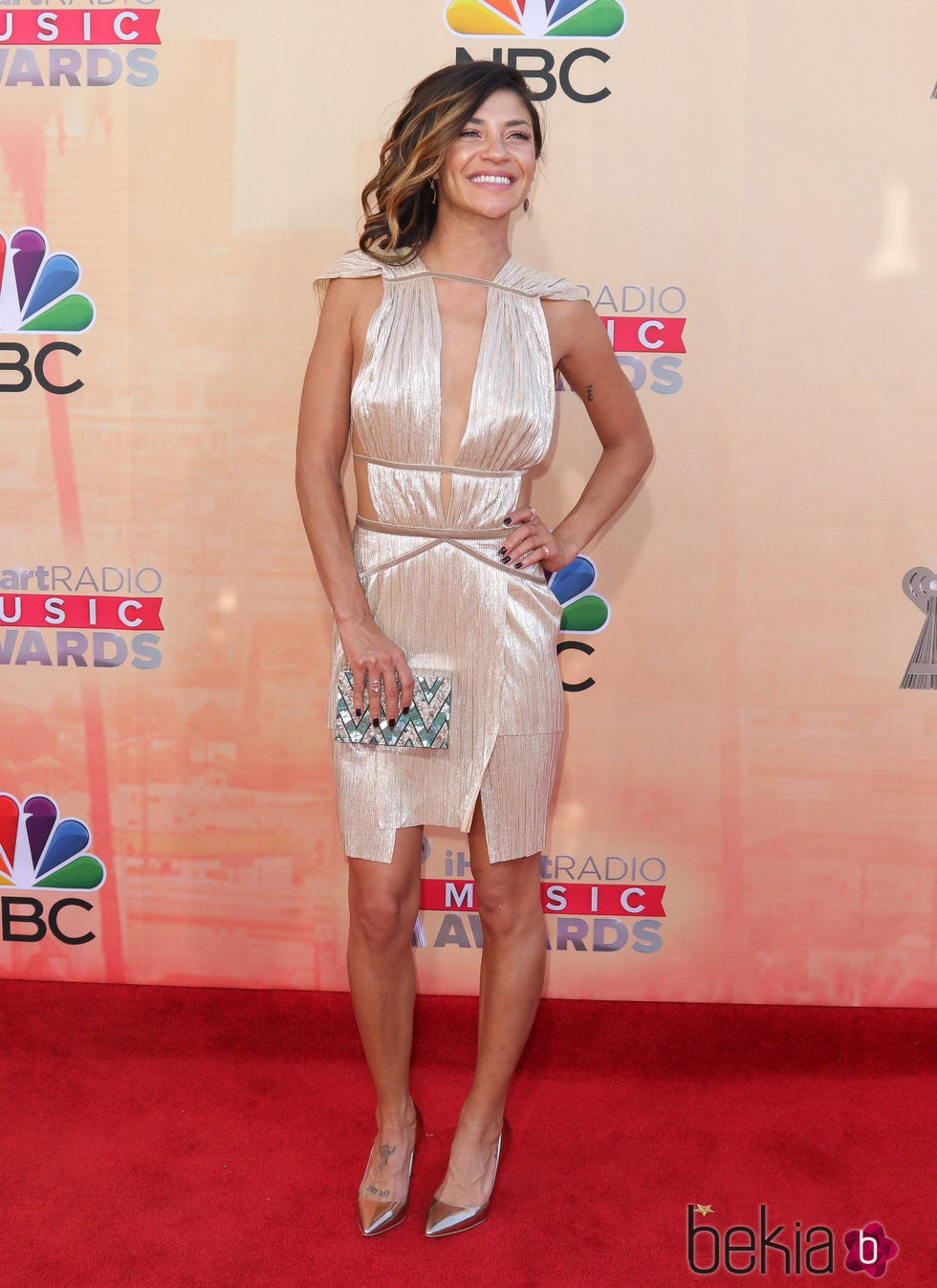 Jessica Szohr en los premios iHeartRadio 2015