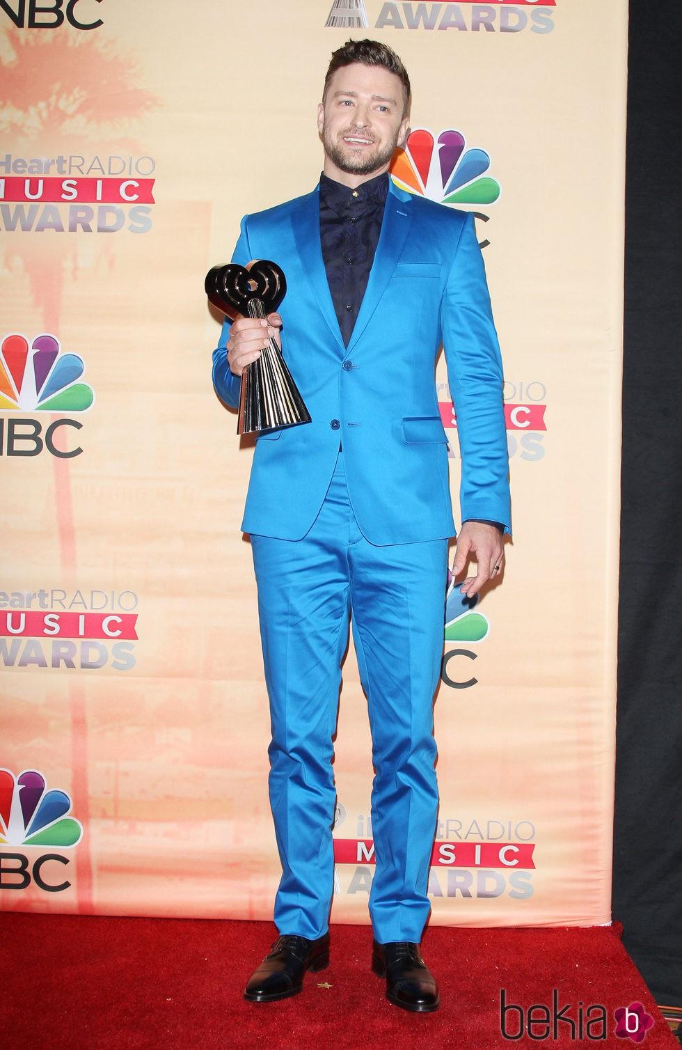 Justin Timberlake en los premios iHeartRadio 2015