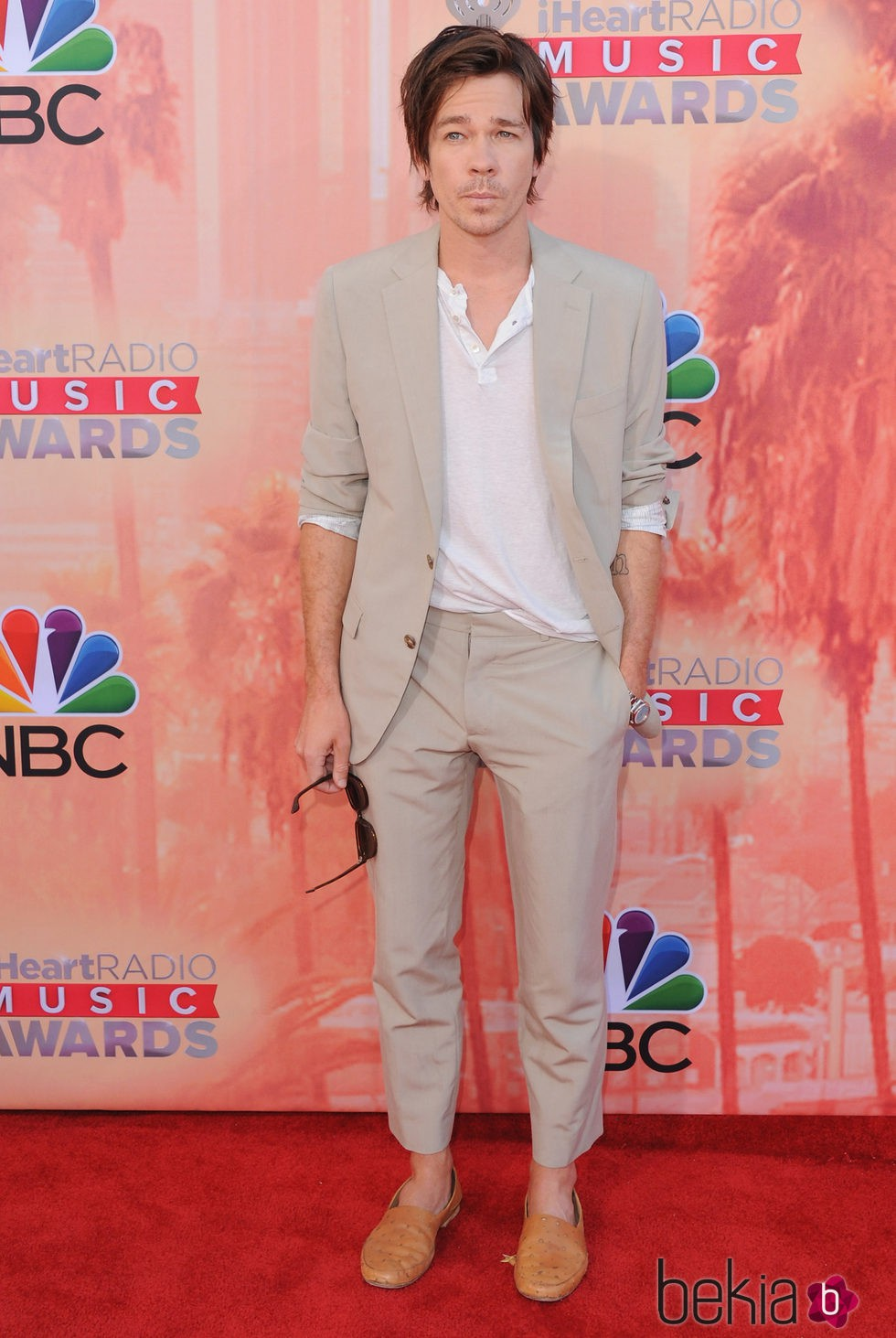 Nate Ruess en los premios iHeartRadio 2015