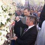 El Rey Felipe VI en las procesiones de la Semana Santa de Sevilla 2015