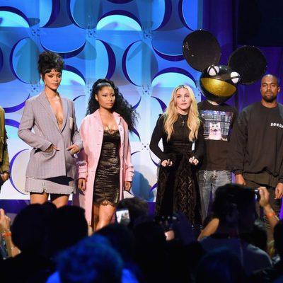 Usher, Rihanna, Nicki Minaj, Madonna, Deadmau5, Kanye West y Jay-Z lanzan Tidal