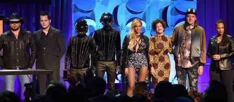 Jason Aldean, Jack White, Daft Punk, Beyoncé y Alicia Keys en el lanzamiento de Tidal