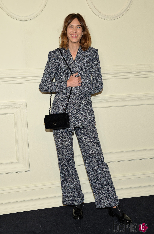Alexa Chung en la presentación en Nueva York de la colección de Chanel París-Salzburgo 2014/15