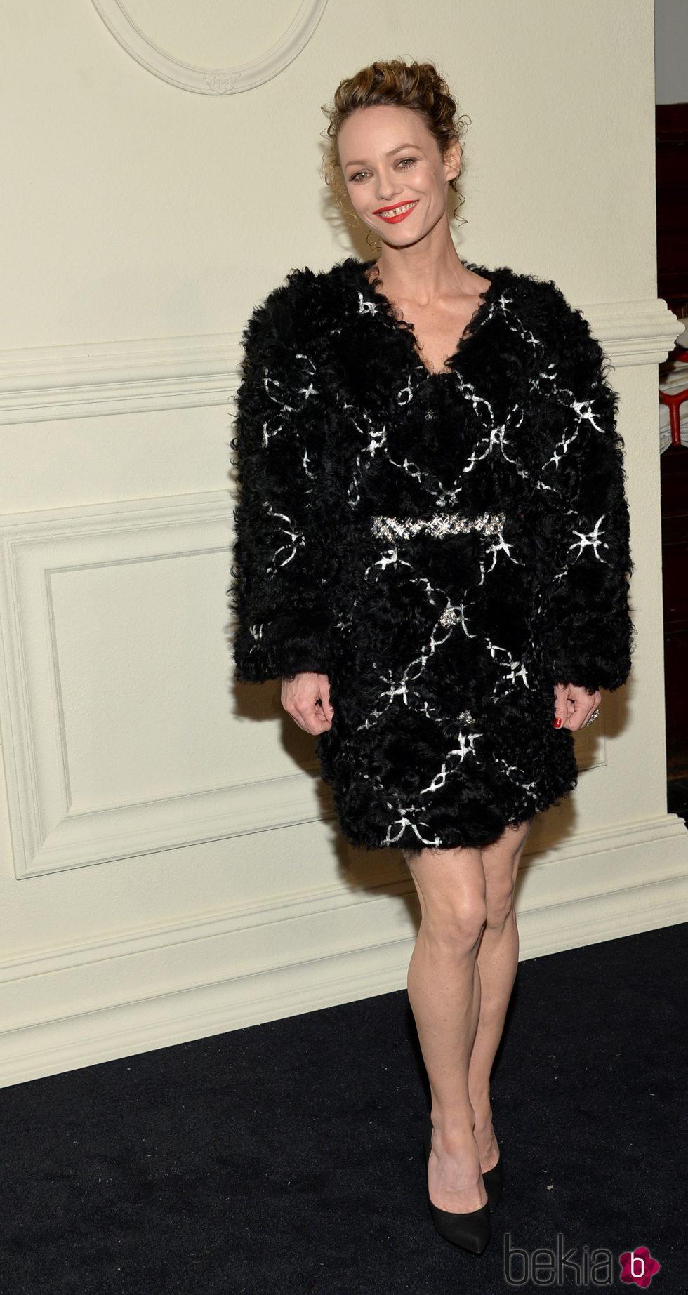 Vanessa Paradis en la presentación en Nueva York de la colección de Chanel París-Salzburgo 2014/15