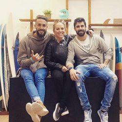 Juanma, Yoli y Jonathan, de 'Gran Hermano 15', se reencuentran en Valencia