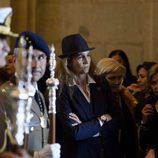 La Infanta Elena, una devota del Cristo de los Alabarderos en Semana Santa de Madrid