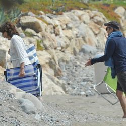 Juan Ribó y Pastora Vega pasan las vacaciones de Semana Santa 2015 en Marbella