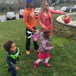 Mariah Carey con nick Cannon y sus hijos