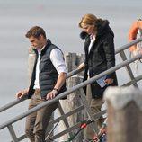 Jennifer Lawrence en el rodaje de 'Joy'