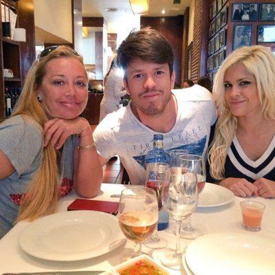 Belén Esteban comiendo con Ylenia y Fede