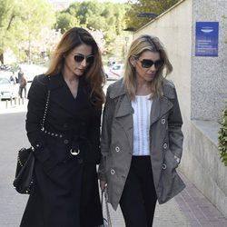 Paloma Cuevas y Patricia Rato en el funeral de Kardam de Bulgaria