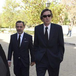Fernando Gómez-Acebo en el funeral de Kardam de Bulgaria