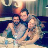 Los concursantes de 'GH 15' Jonathan, Yolanda y Vitín se reencuentran en Madrid