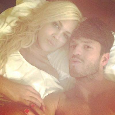 Ylenia y Fede juntos en la cama