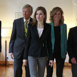 La Reina Letizia en la entrega del Premio Princesa de Girona de Investigación Científica