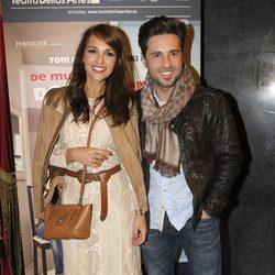 Paula Echevarría y David Bustamante en el estreno de 'De mutuo desacuerdo'