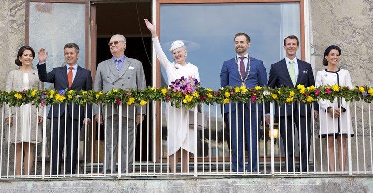 La Familia Real Danesa celebra el 75 cumpleaños de Margarita de Dinamarca en Aarhus
