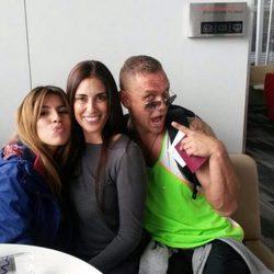 Chabelita, Isabel Rábago y Nacho Vidal, de camino a Honduras para participar en 'Supervivientes 2015'