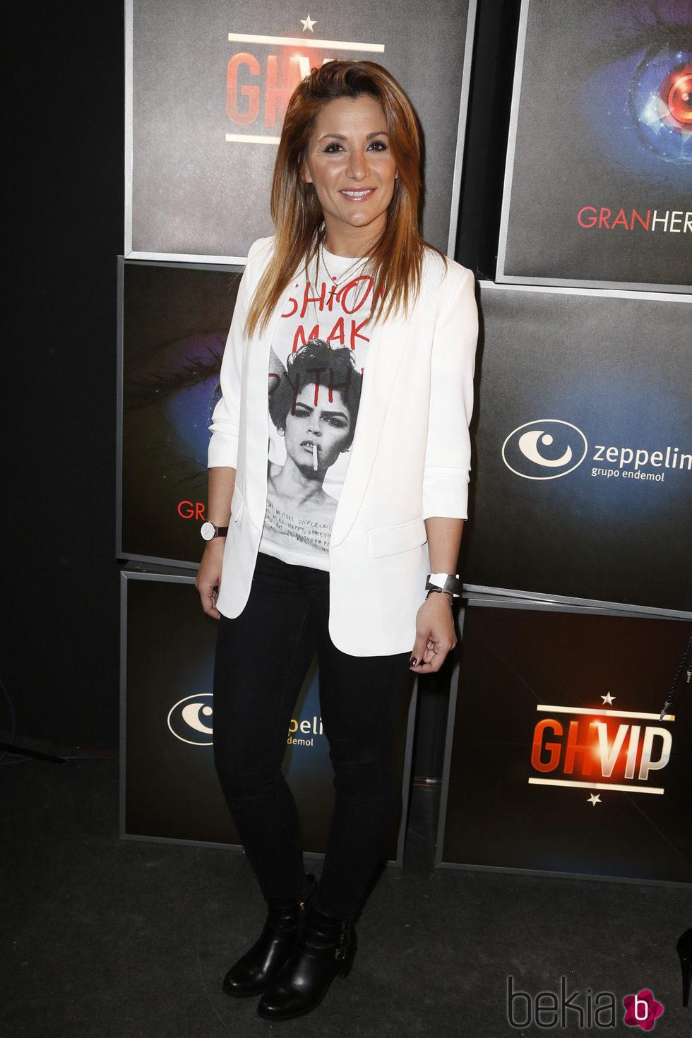 Nagore en la fiesta de 'Gran Hermano VIP' en Madrid