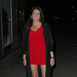 Ángela Portero en la fiesta de 'Gran Hermano VIP' en Madrid