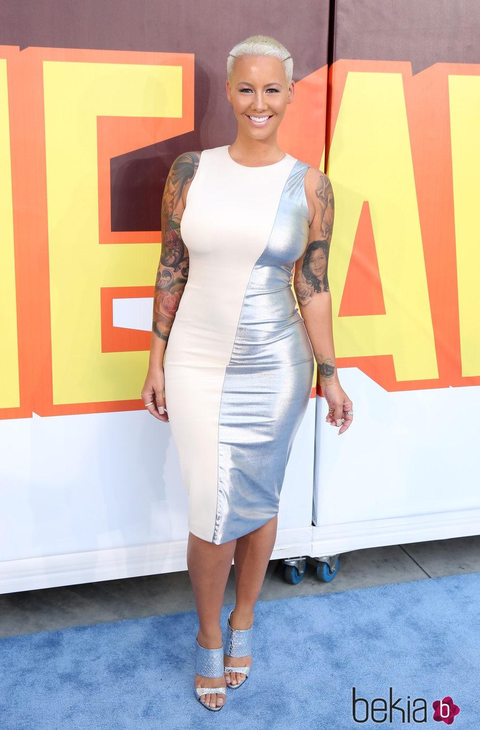 Amber Rose en los MTV Movie Awards 2015