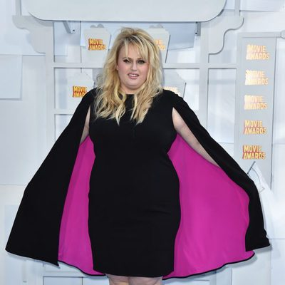 Rebel Wilson en los MTV Movie Awards 2015