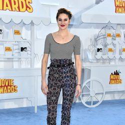 Shailene Woodley en los MTV Movie Awards 2015