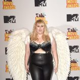 Rebel Wilson durante la gala de los MTV Movie Awards 2015