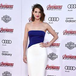 Cobie Smulders en el estreno de 'Los vengadores: la era de Ultron' en Los Angeles
