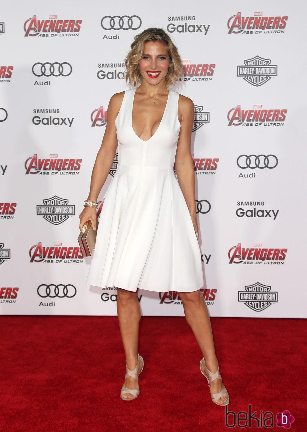 Elsa Pataky en el estreno de 'Los vengadores: la era de Ultron' en Los Angeles