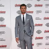Chris Hemsworth en el estreno de 'Los vengadores: la era de Ultron' en Los Angeles
