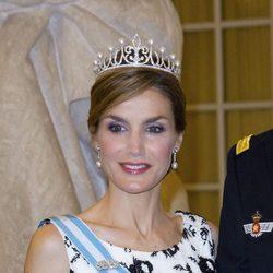 La Reina Letizia en el 75 cumpleaños de Margarita de Dinamarca