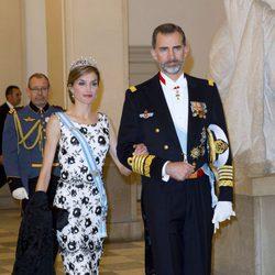Los Reyes de España en el 75 cumpleaños de Margarita de Dinamarca