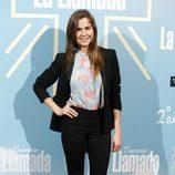 Natalia Sánchez en el segundo aniversario de 'La llamada'